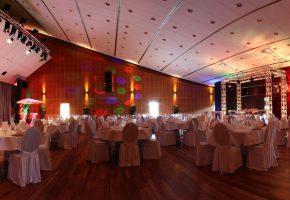 Event Forum Castrop - Räumlichkeiten - Stadthalle - Innenansicht - Hochzeit